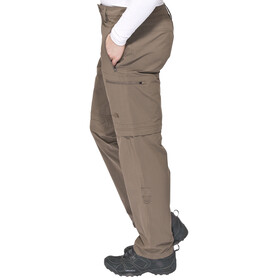 The North Face Exploration Convertible Pants Men Long Weimaraner Brown